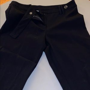 Slim fit black trousers